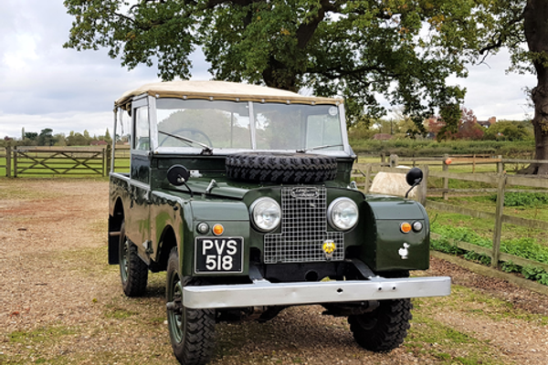 1956 Land Rover Series 1 benefiting from a recent overhaul at CCA December Sale