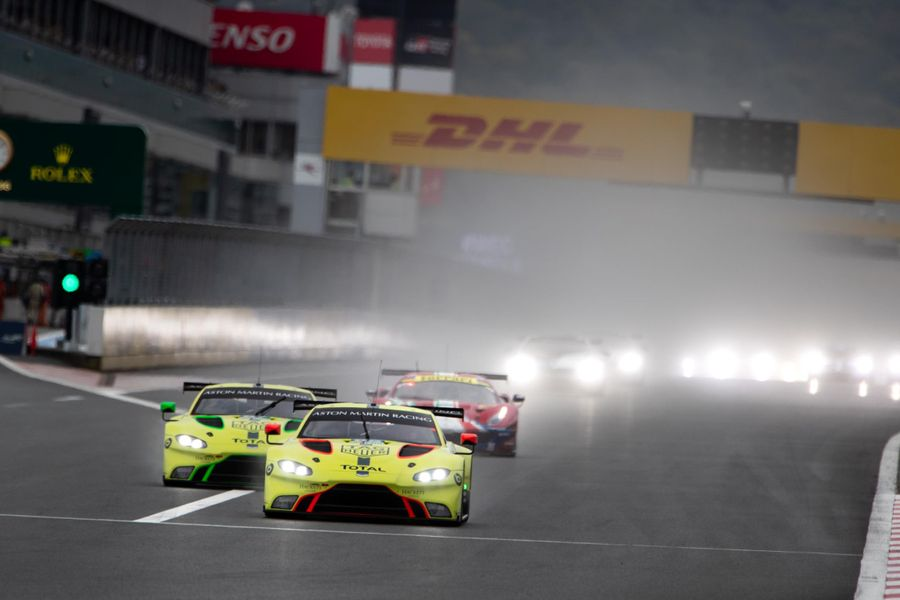 WEC: Aston Martin Racing looks to build on pole-winning Fuji pace in China