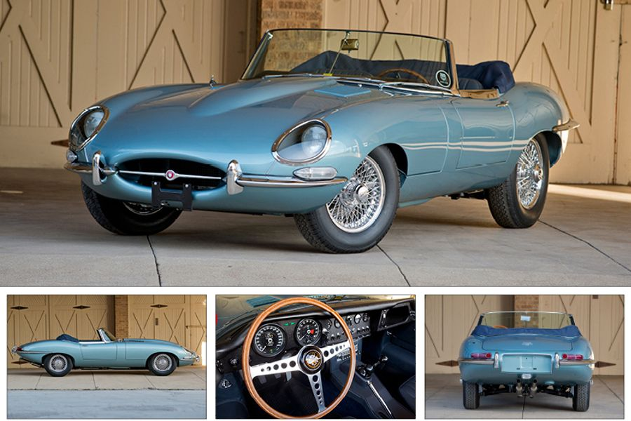 Multiple Award Winning 'Series I' E Type Roadster on offer at Scottdale