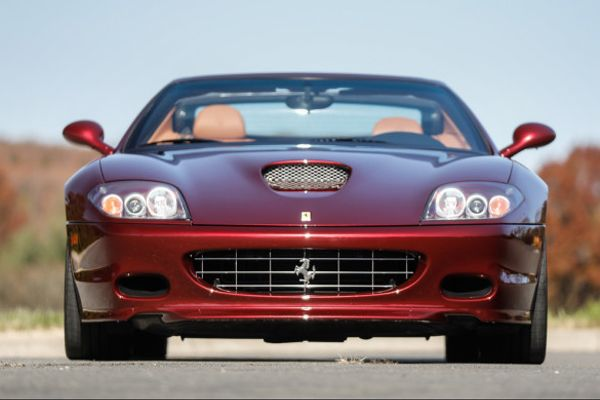 2005 Ferrari 575 Superamerica on offer at Goodings Scottsdale Auction