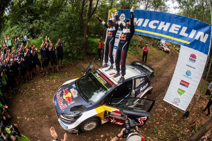 Sixth WRC title in a row for Sébastien Ogier after dramatic Australia finish