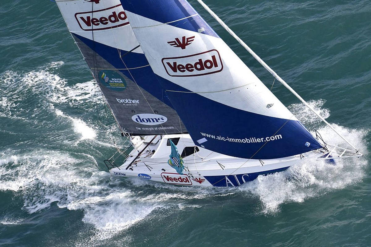 Antoine and Richomme convincing winners in Rhum Multis and Class40s