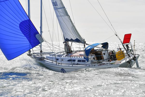 Golden Globe: On approach to Cape Horn