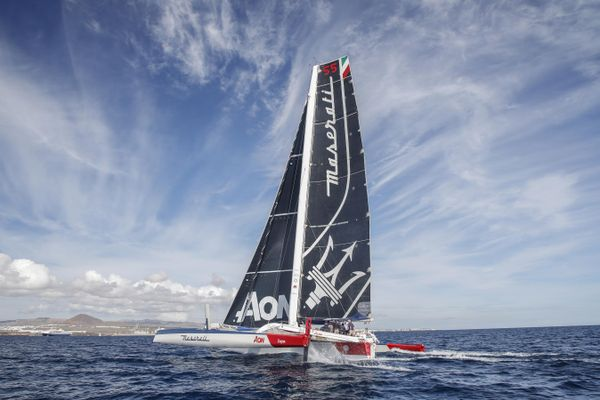 Maserati Multi 70 and Giovanni Soldini ready for RORC Transatlantic Race