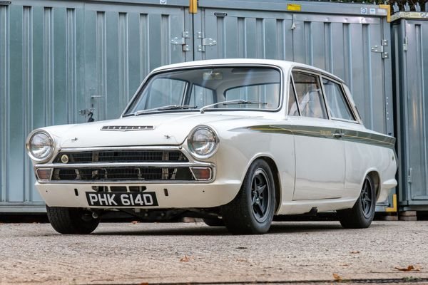 Legendary Lotus Cortina Group 5 Works car up for auction