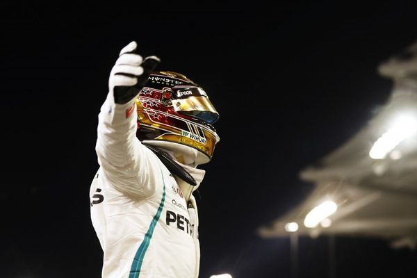 Hamilton on final pole of 2018 at Abu Dhabi