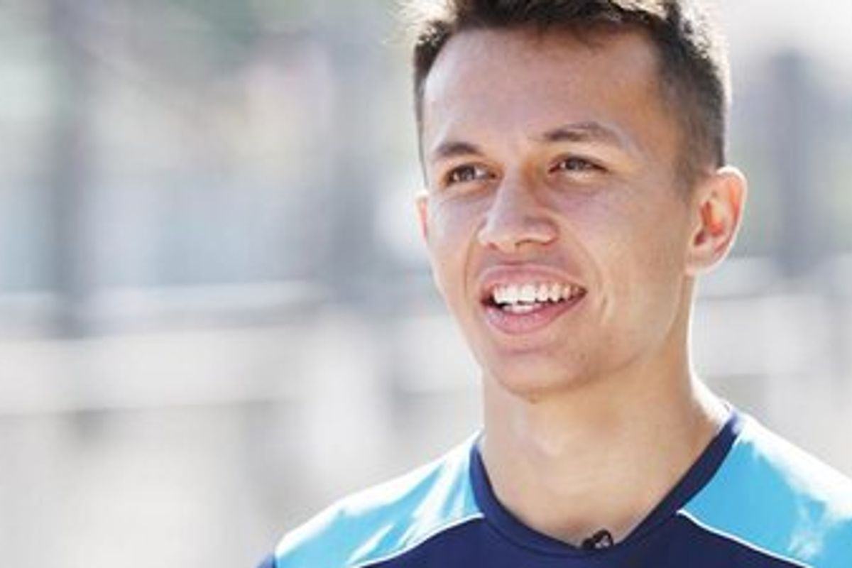 Alexander Albon to drive for Red Bull Toro Rosso Honda in 2019