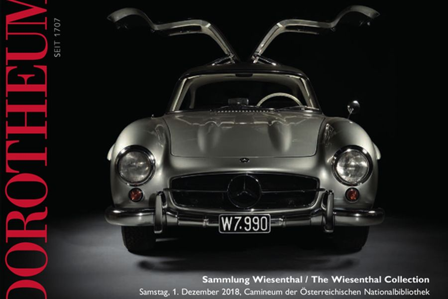 The Wiesenthal Collection: 1955 Mercedes-Benz 300 SL on offer at Dorotheum