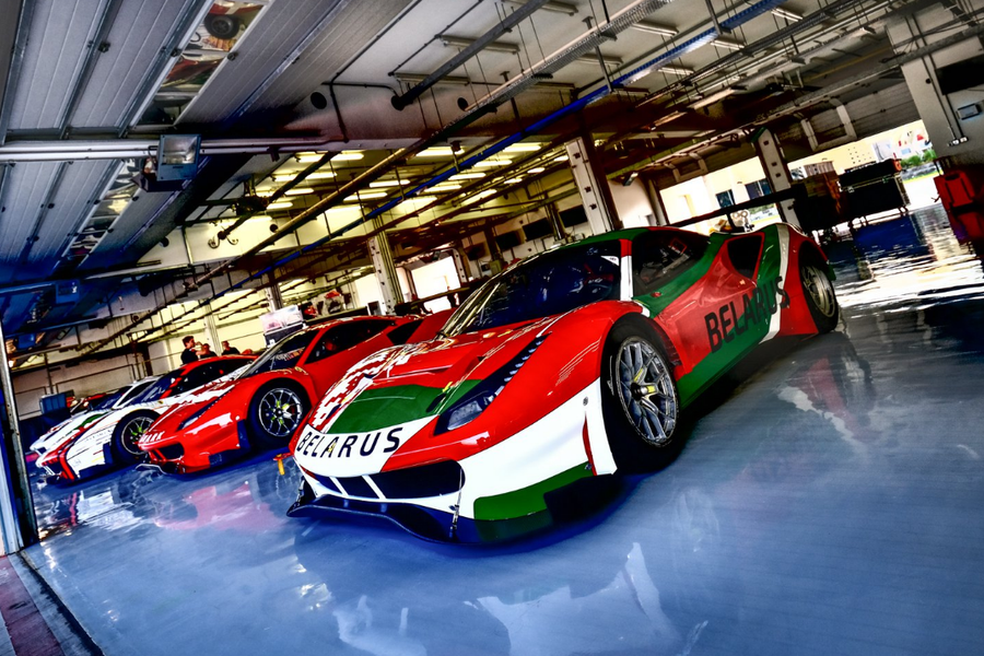 Nine Ferrari crews competing in FIA GT Nations Cup, Bahrain