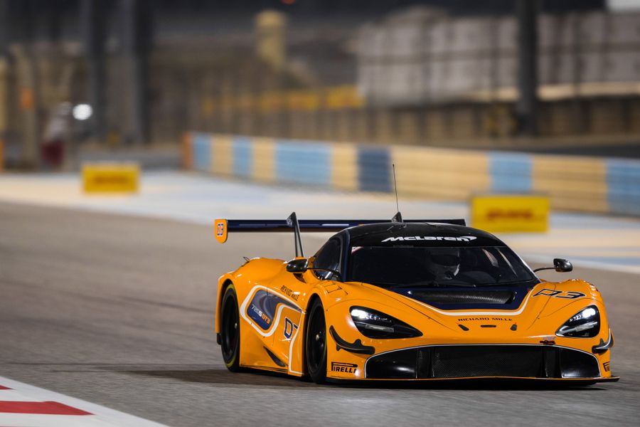 Stellar driver line-up for competitive debut of the 720S GT3 in the Gulf 12hr