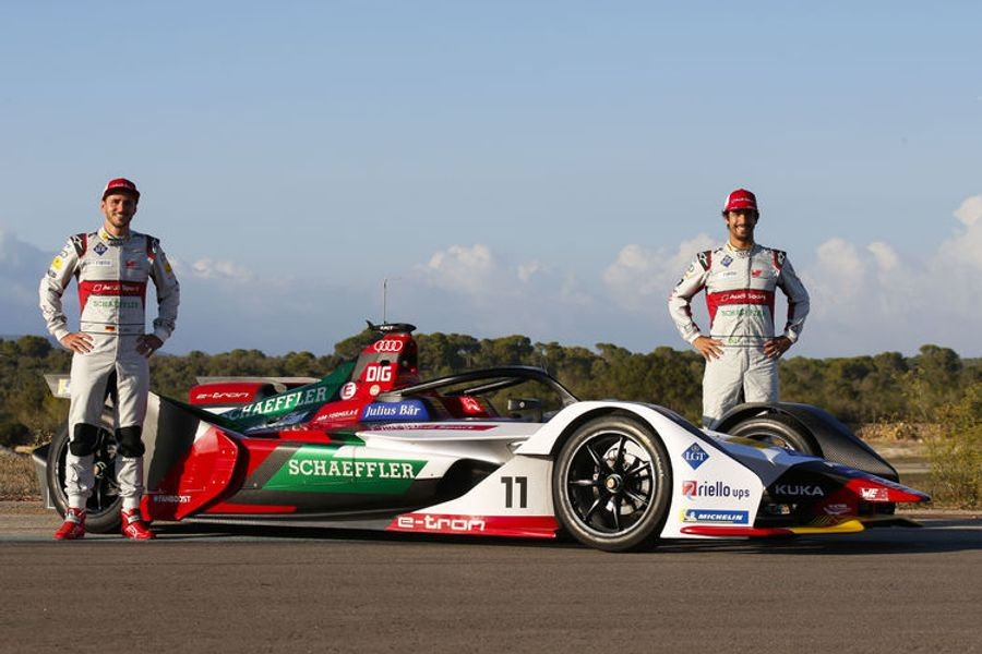 Audi starts title defense in Formula E
