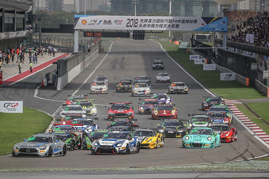 Blancpain GT Asia Shanghai season finale pushed back one week to avoid F1 clash