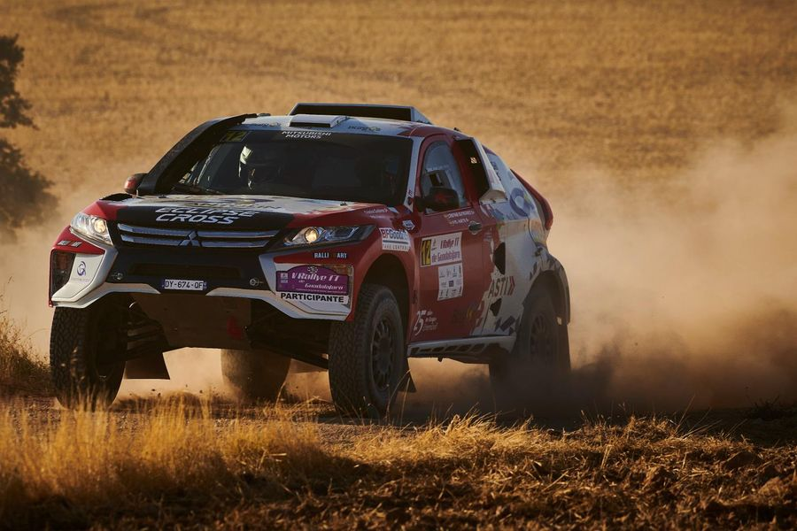 Mitsubishi Eclipse Cross T1 Prototype to compete in Dakar Rally