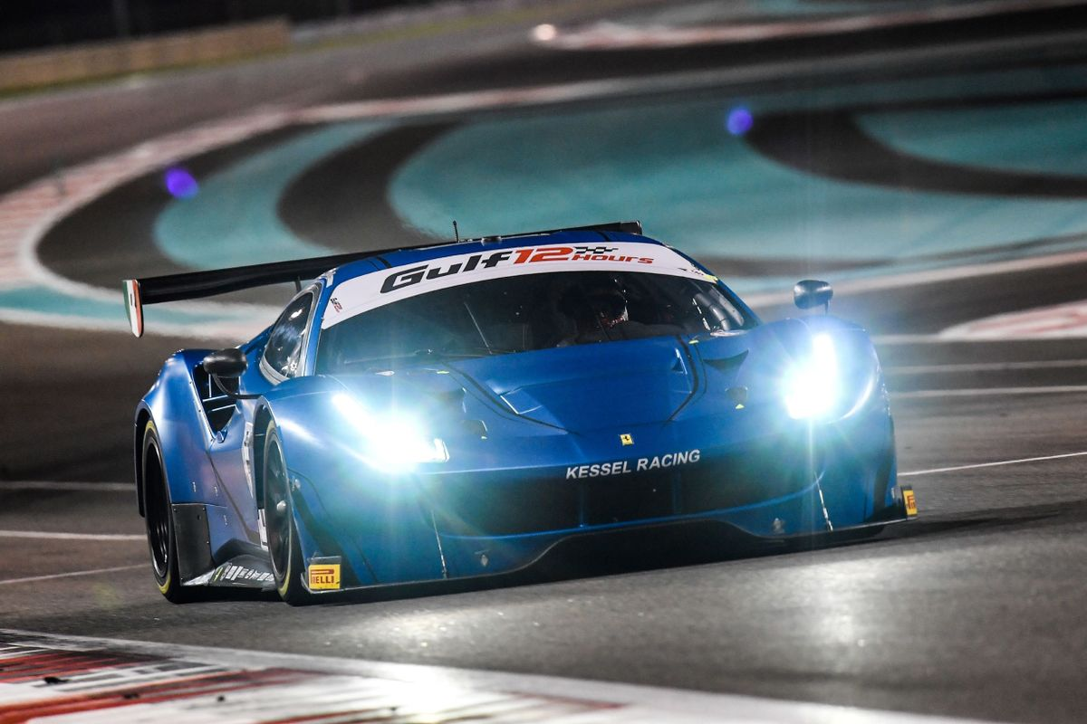 A women-only Ferrari at the Gulf 12 Hours