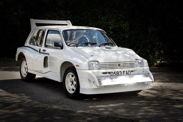 Super-low mileage 1985 MG Metro 6R4 to offered at the Autosport Auction