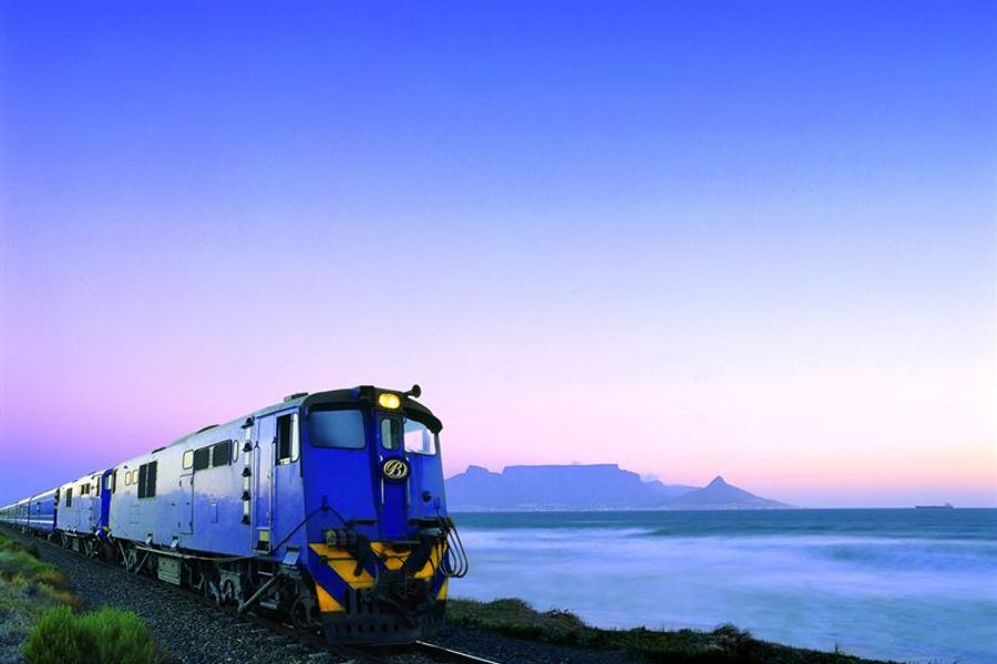 Cast off the winter blues aboard South Africa's Blue Train for an unforgettable experience