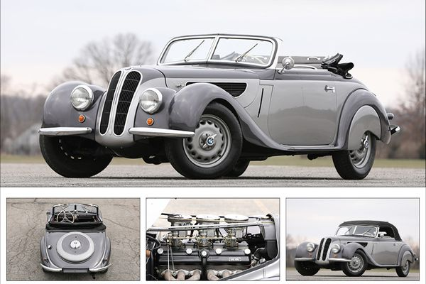 Sporting and Elegant BMW 327/28  at the Scottsdale Auction