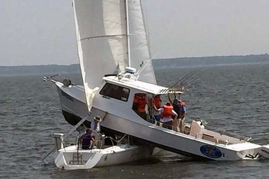 Celebrity boaters, dramatic boat collisions and practical boating tips