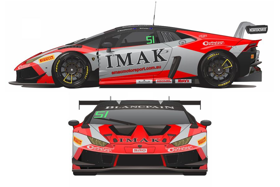AMAC's Macpherson and Porter return to Blancpain GT with Lamborghini Huracan GT3 Evo