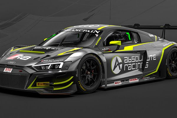 Absolute Racing return to World Challenge Asia with two Audi R8 LMS GT3 Evos