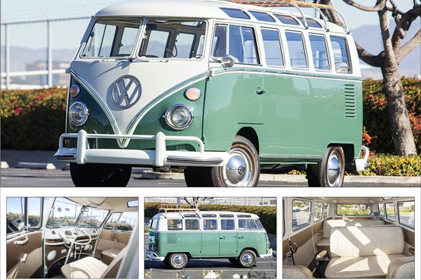 VW's 21-Window, Pop Culture People Mover Offered at Scottsdale