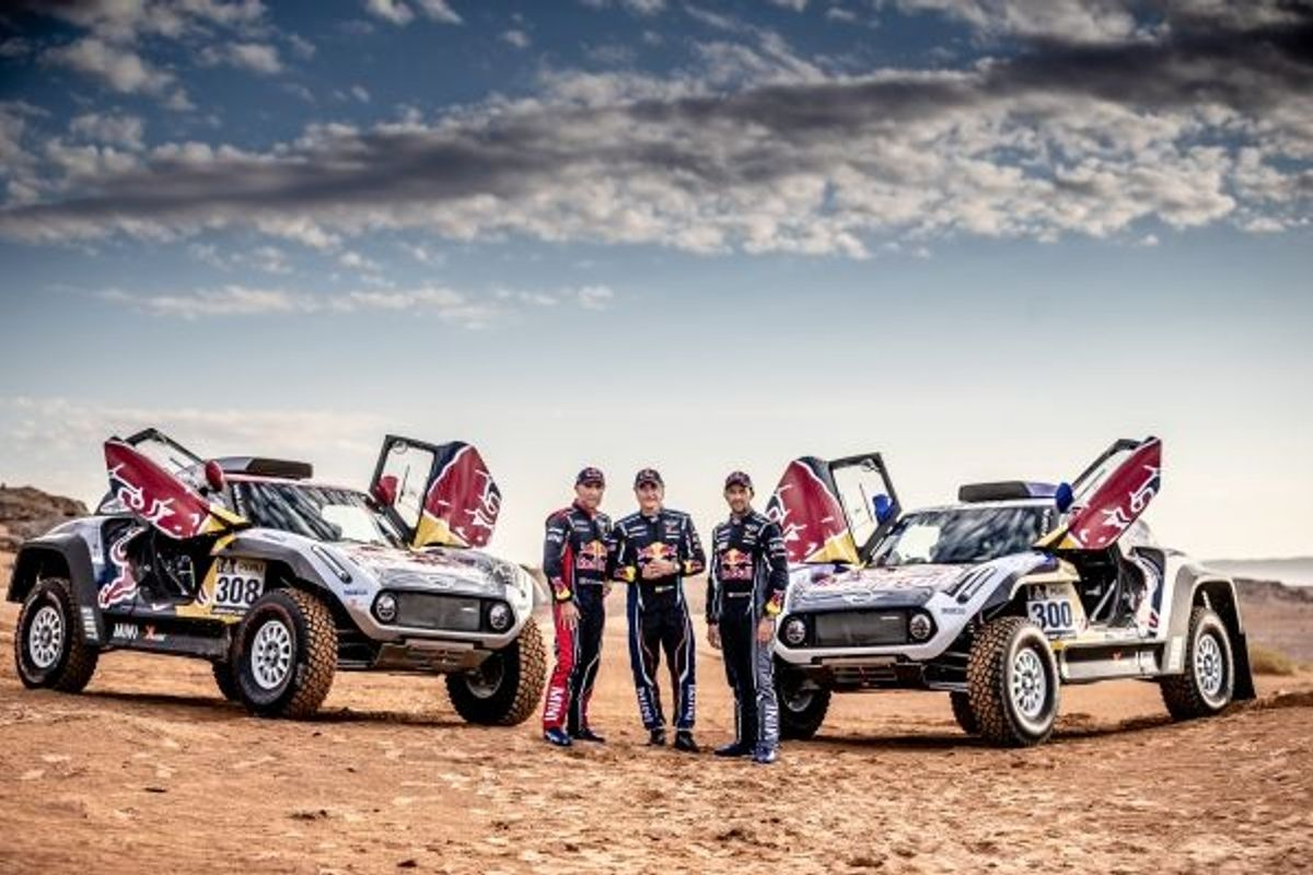 MINI three-way interview with Stéphane Peterhansel, Carlos Sainz and Cyril Despres