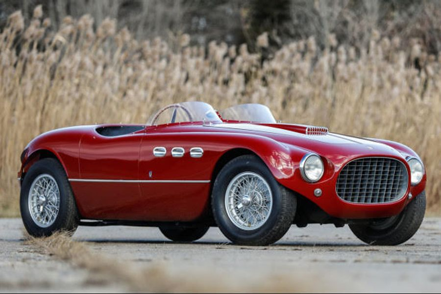 New Year's Resolution: Own a 1950s Ferrari