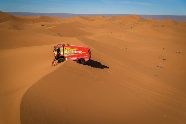 Day 2 in Morocco for Africa Eco Race competitors