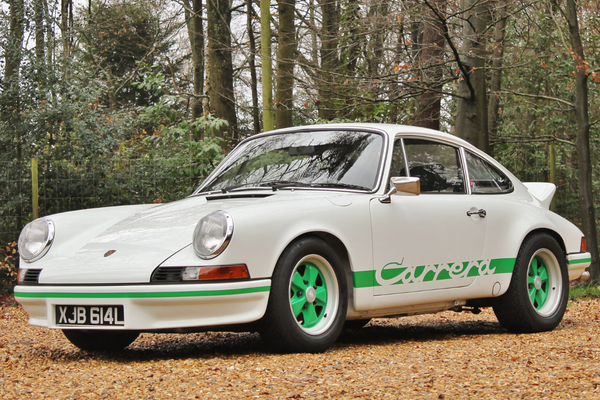 1973 Porsche 911 Carrera RS 2.7; veteran of many tours and rallies
