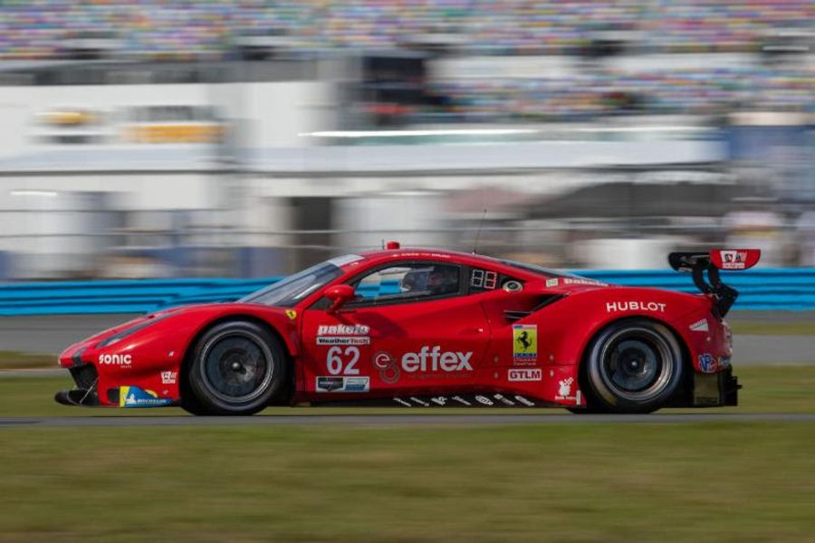 Risi Competizione Concludes Successful Roar Before the Rolex 24 Test at Daytona