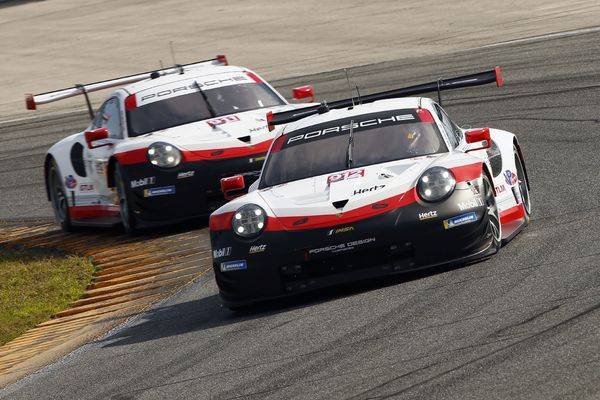 Fast and reliable: Perfect tests for Porsche at Daytona 24 test