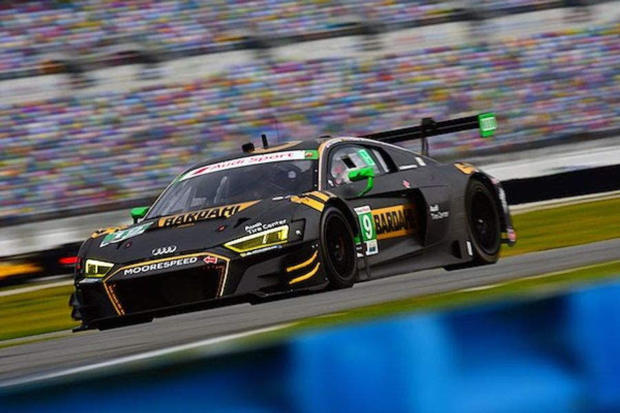 Hardeman, Riberas and Davis Complete Productive 2-Day Daytona 24 test for Moorespeed