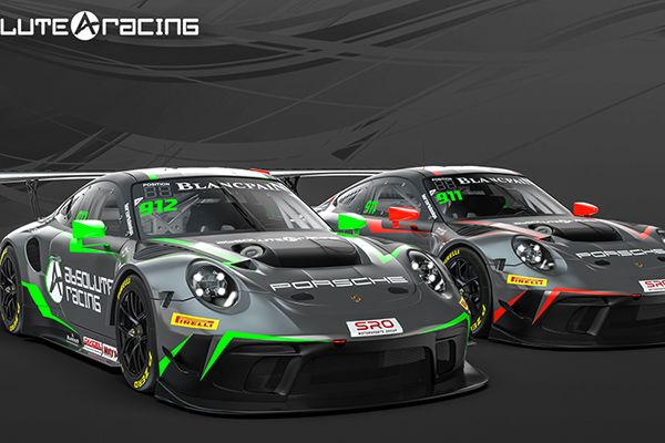 Absolute Racing adds Porsches to Blancpain GT World Challenge Asia entry