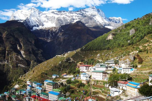 Everest base camp trek; follow in the footsteps of climbing legends