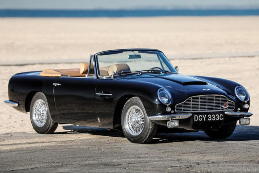 Brits feature strongly at Scottsdale; 1967 Aston Martin DB6 Mk I Volante