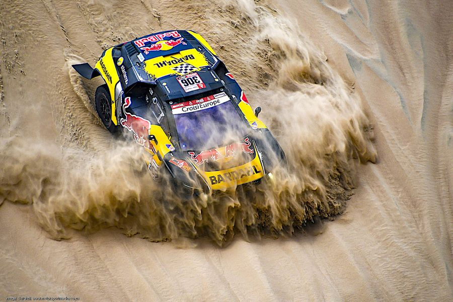 Loeb wins day 2 on the Dakar