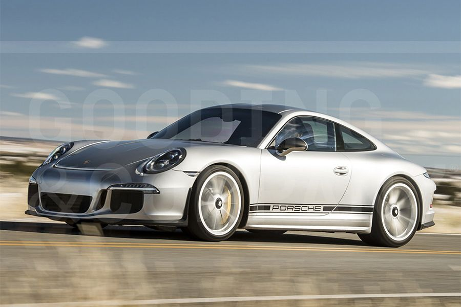 Nice spec 2016 Porsche 911 R on offer at Goodings