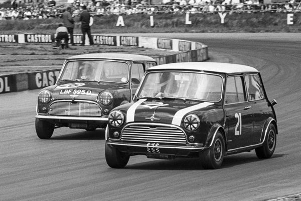 Special races at Silverstone Classic to mark magical Mini milestone