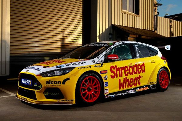 Chilton and Jackson confirmed at Team Shredded Wheat for BTCC 2019