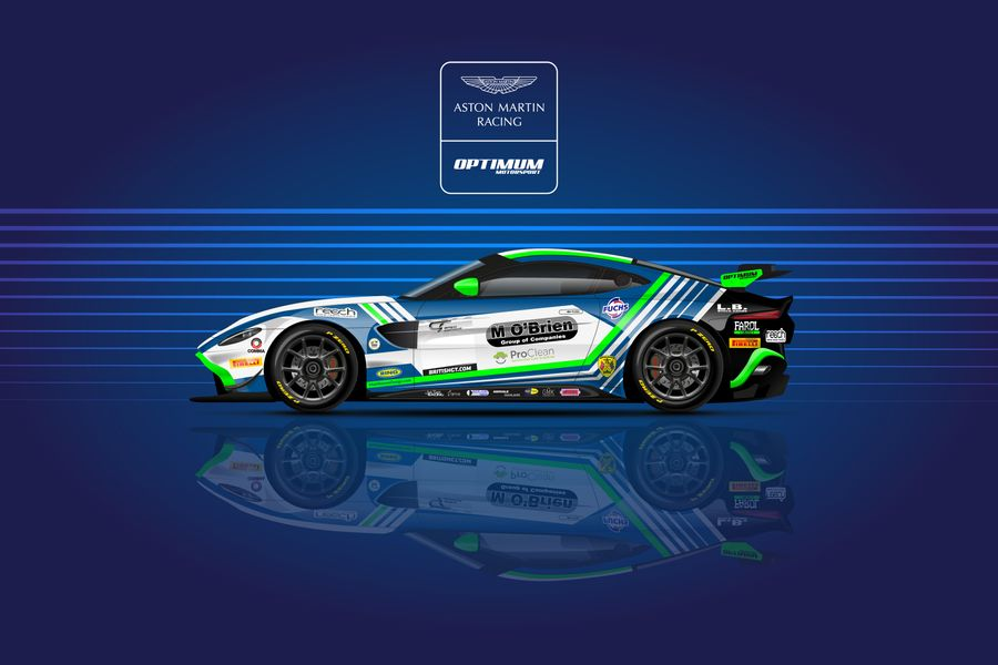 Jack Butel to partner Connor O'Brien in Optimum Motorsport British GT programme