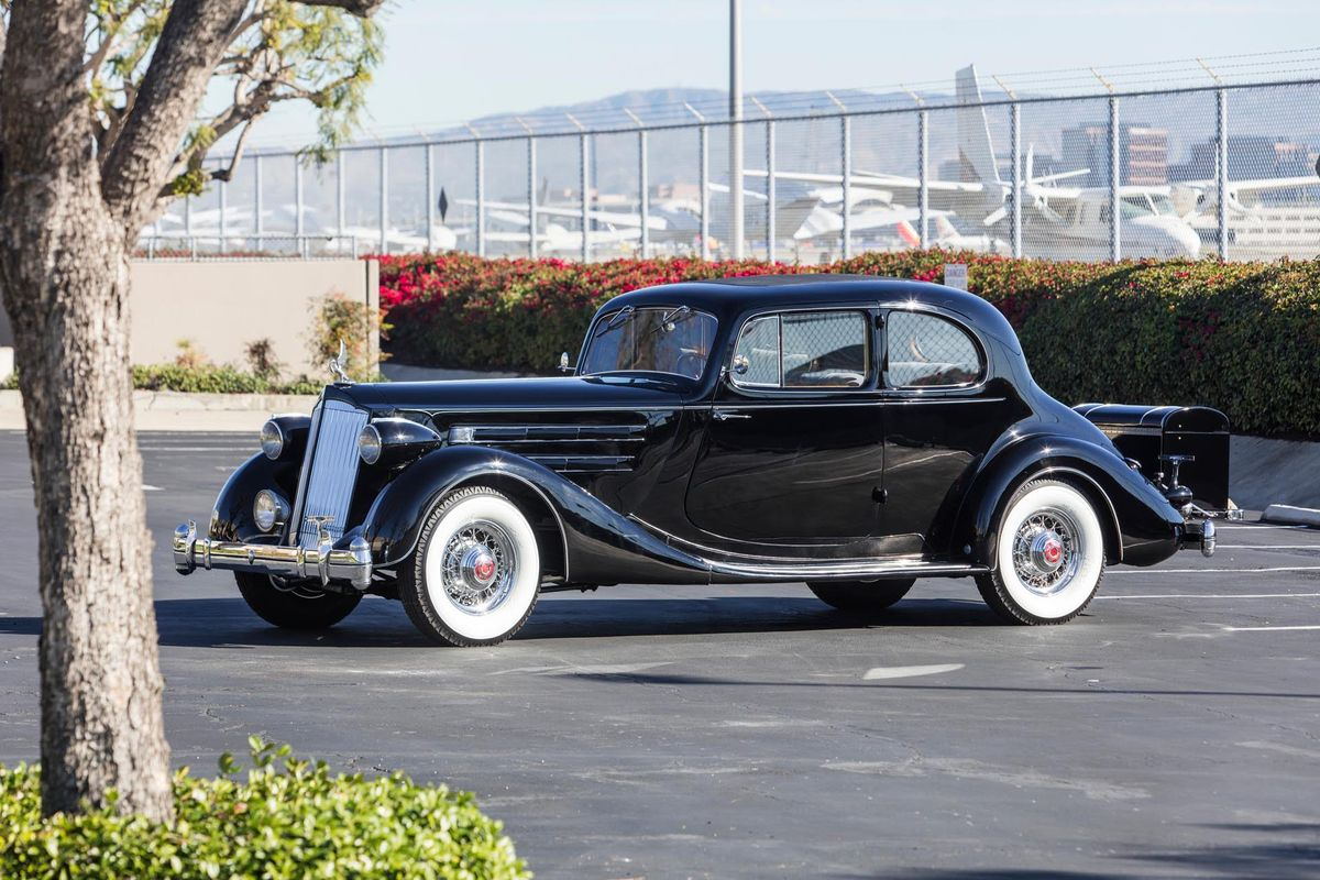 Rare 1936 Packard Twelve Model 1407 Coupe heads to Scottsdale Auction