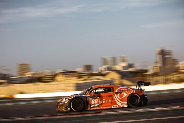 Audi Sport customer teams celebrate one-two result in Dubai