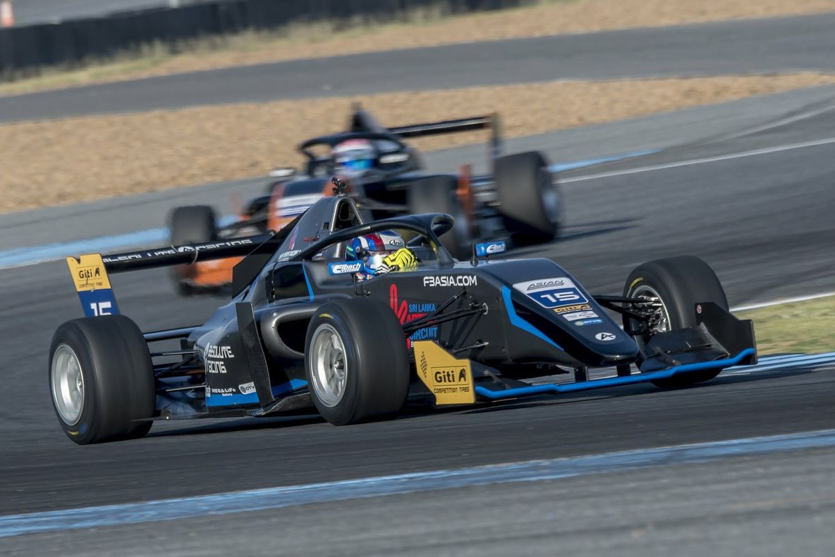 Victory for Absolute Racing in Asian Winter Series opener