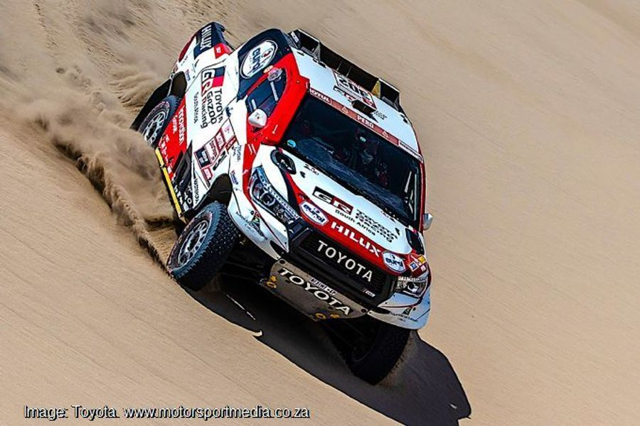 Electrical issue for Loeb day 7 on the Dakar