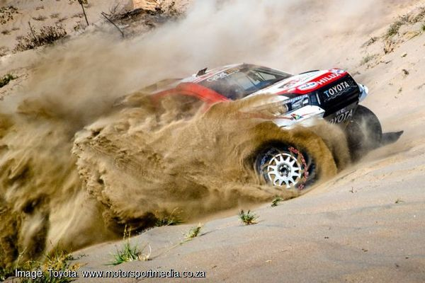 Toyota on brink of Dakar win as Al Attiyah leads by 46 minutes