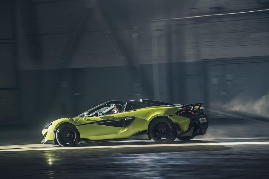 McLaren 600LT Spider available to order now; priced from £201,500