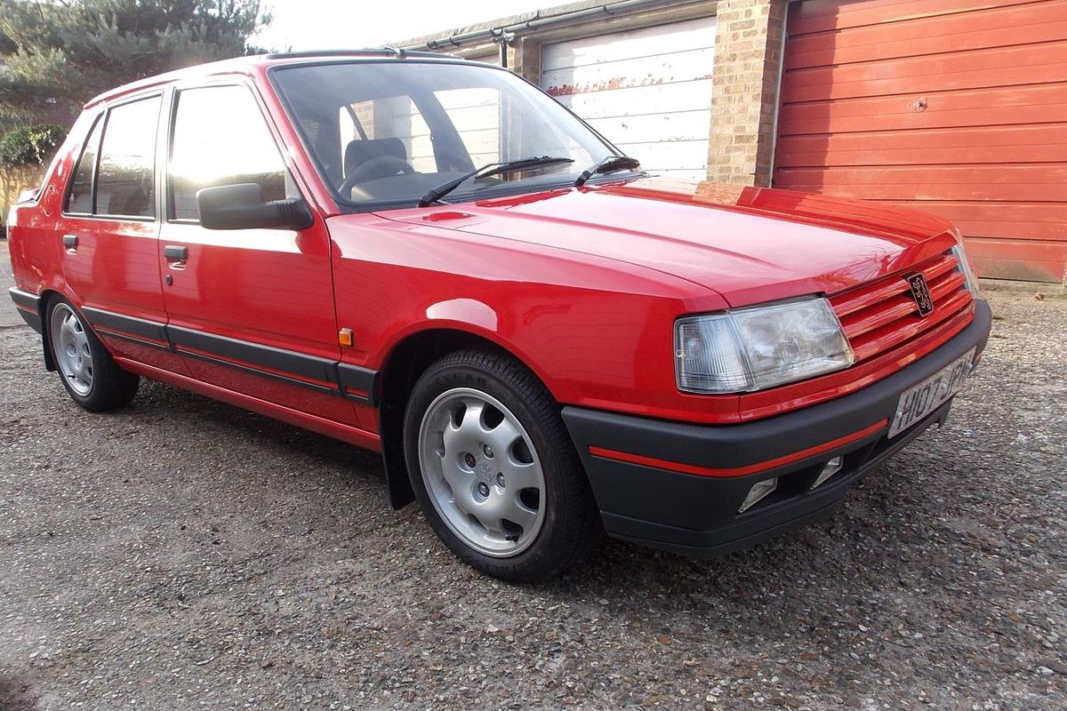 131 miles in 28 years; time warp Peugeot 309 GTi under the hammer at Barons