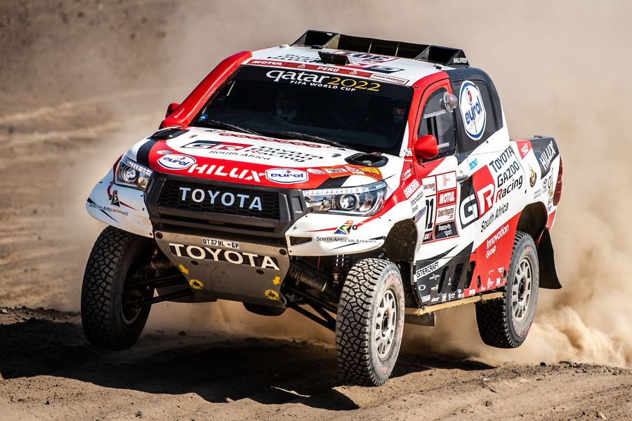Nasser Al Attiyah wins Dakar Rally for Toyota