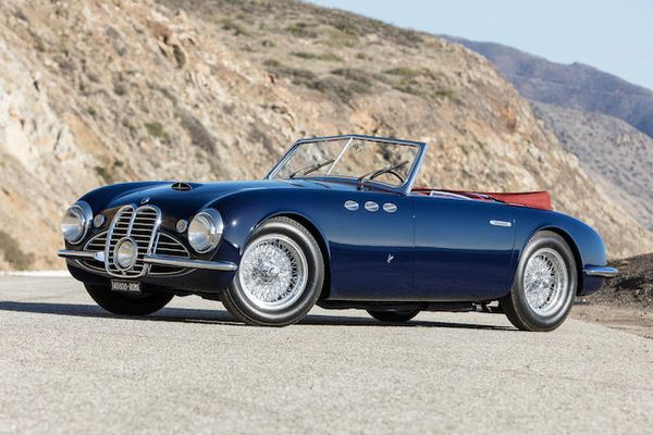 1951 Maserati A6G/2000 Spider sells for £2,133,698 at Bonhams Scottsdale Auction, results