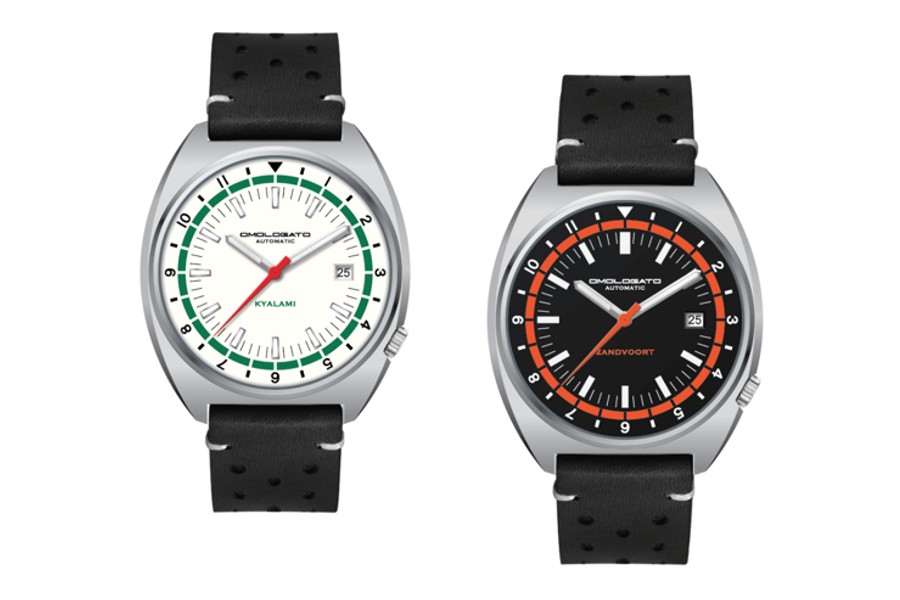 Two New Omologato Watches Honour Classic GP Circuits